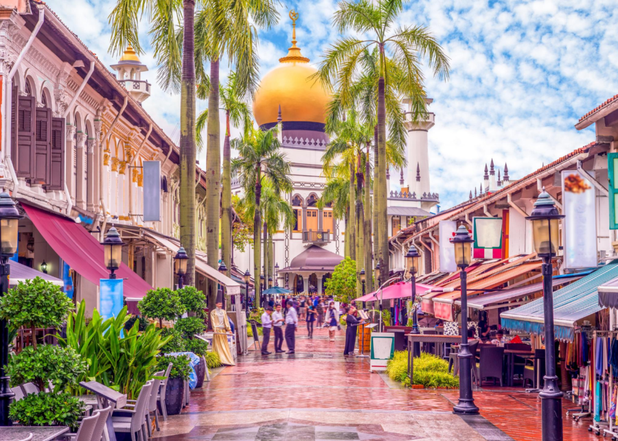 arab street sultan mosque