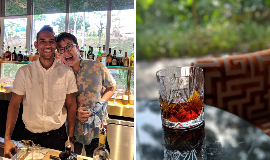 We sat through a quick session with Mark, who was accompanied by senior bartender Diveysh Ramesh, and learnt how to nail the Negroni and punch bowl