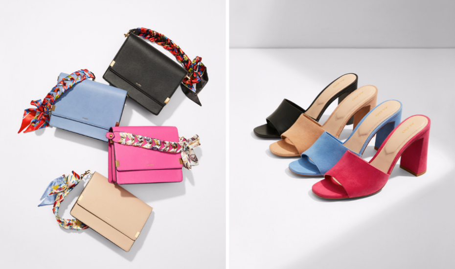 Trend spotting: Aldo's SS19 collection is the stuff of colour blocking dreams