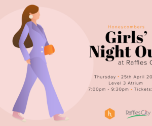 Girls' Night Out: free-flow wine, styling and makeovers at Raffles City | Honeycombers
