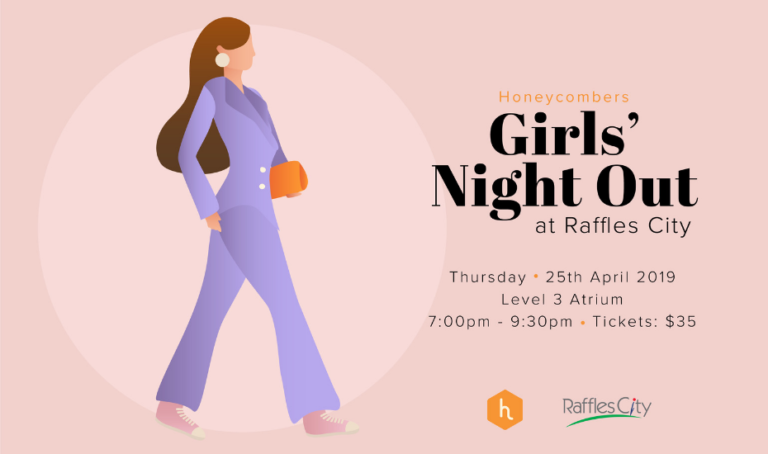 Girls' Night Out: We're back with a stylish party at Raffles City