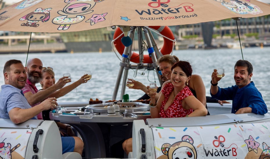 20% off weekday lunch cruises with The Floating Donut Company