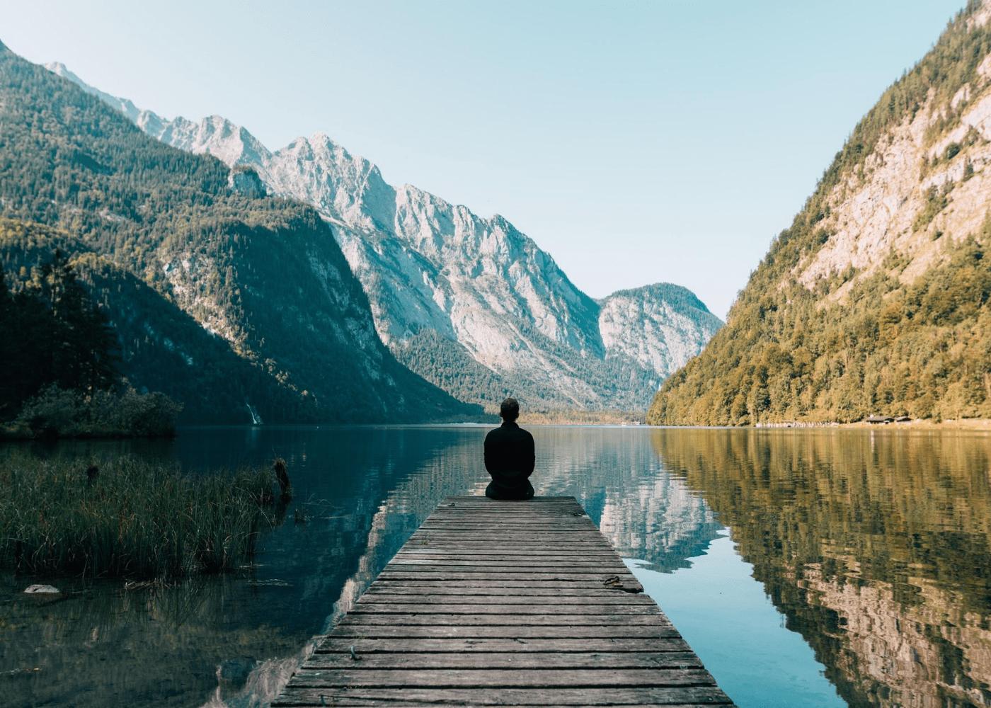 man at lake | public holidays 2021