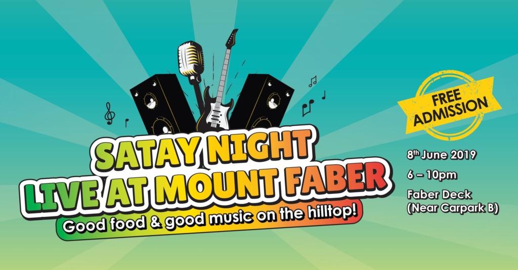 Satay Night LIVE @ Mount Faber