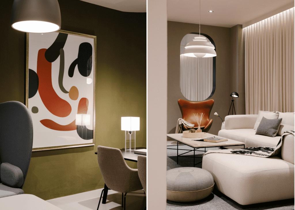 Decor inspiration: W Atelier's Fritz Hansen Lounge | Honeycombers