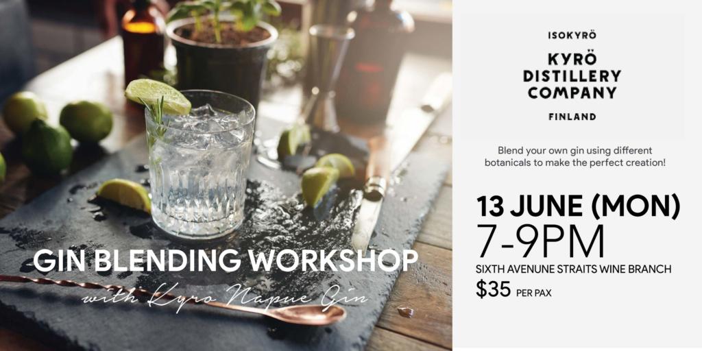 Gin Blending Workshop