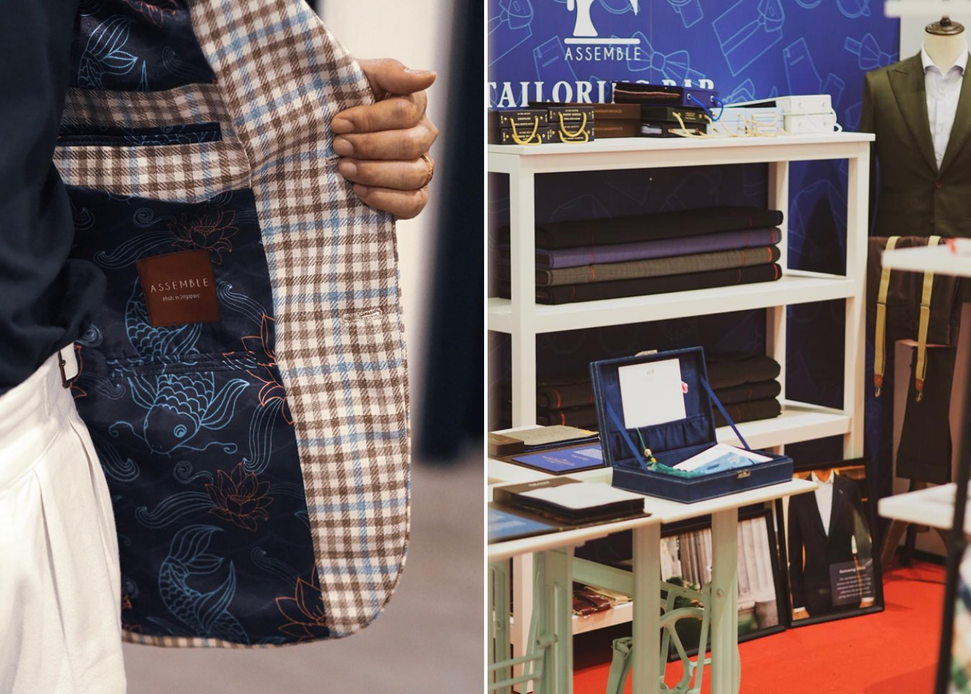 Where to shop this June 2019 | Gentleman's pop-up by Assemble