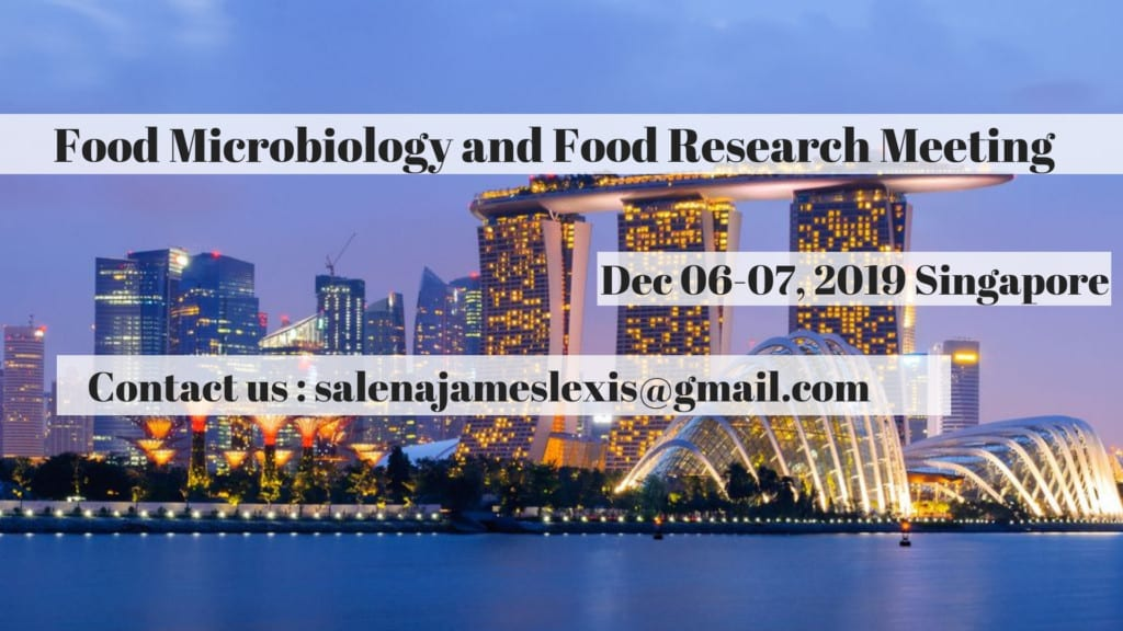 Food Microbiology Conference 2019