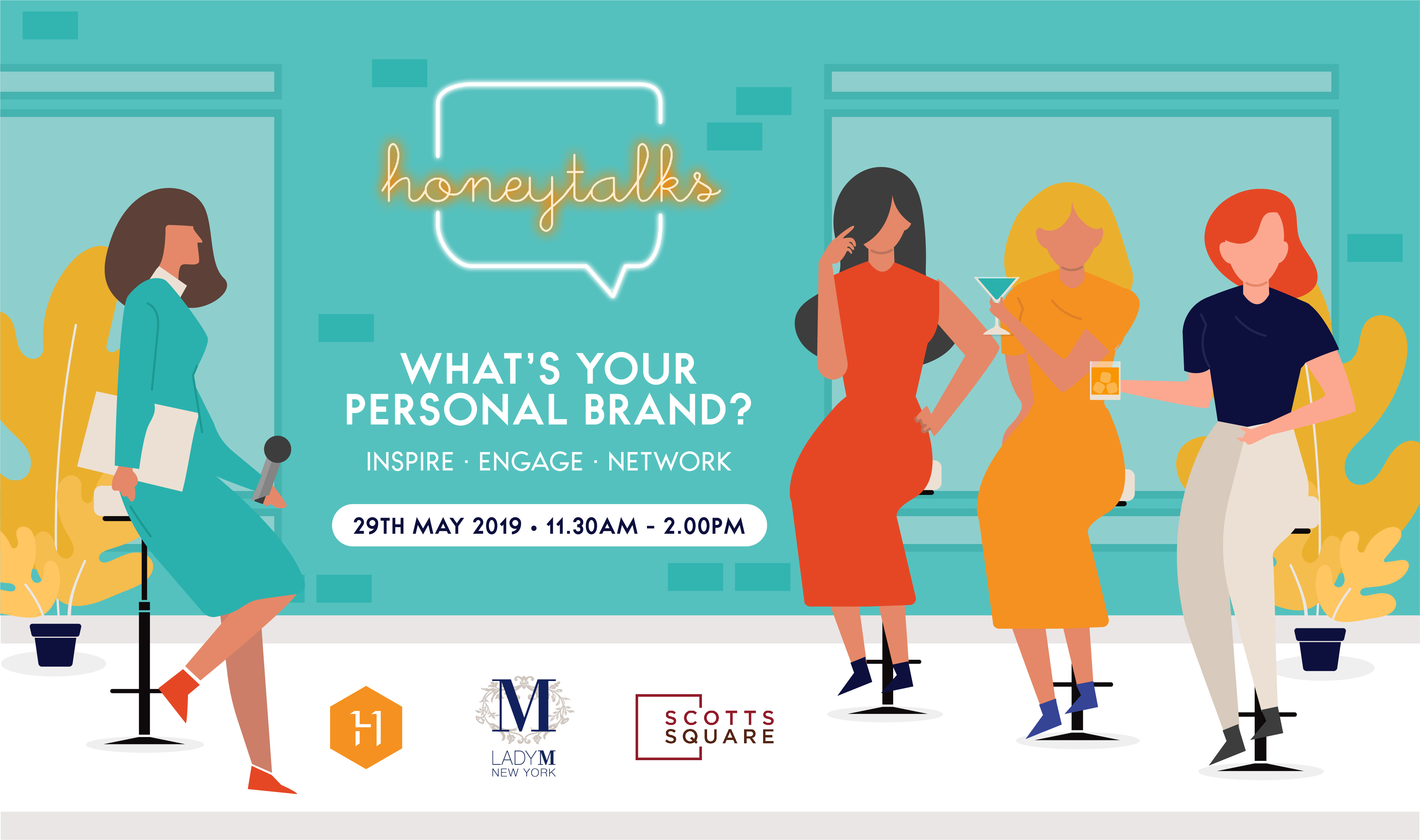 HoneyTalks by Honeycombers networking panel talk what's your personal brand