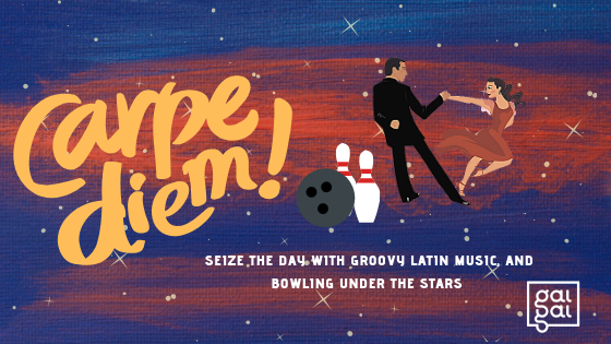 Latin-inspired Cosmic Bowling Event for Singles