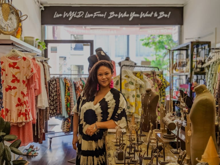 Kara Bensley-Austin of the WYLD Shop talks style and staying a free spirit