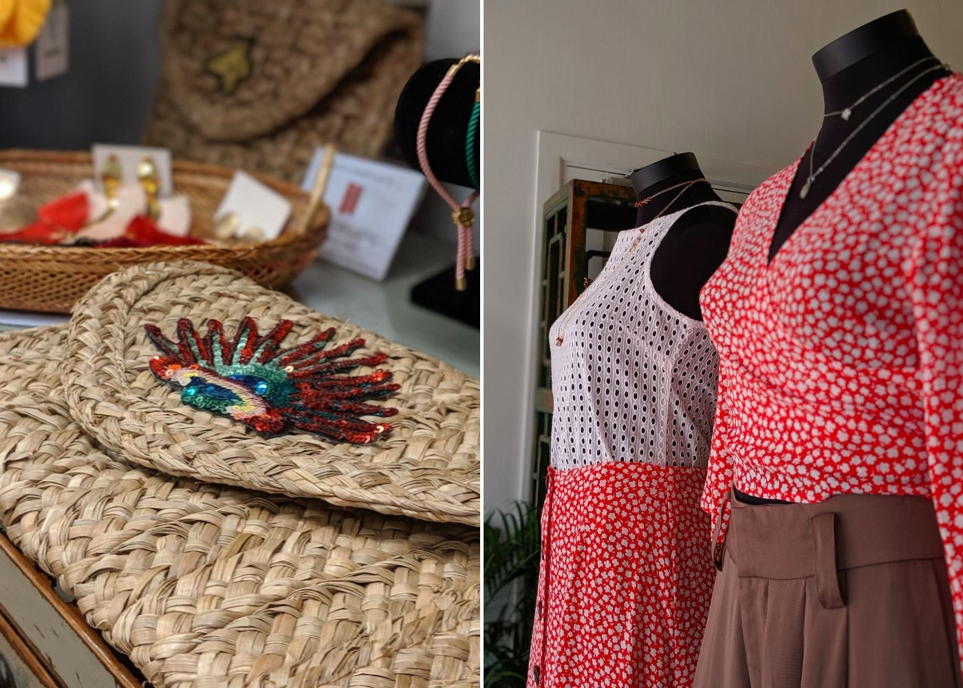 Colourful outfits and accessories at The WYLD Shop Joo Chiat