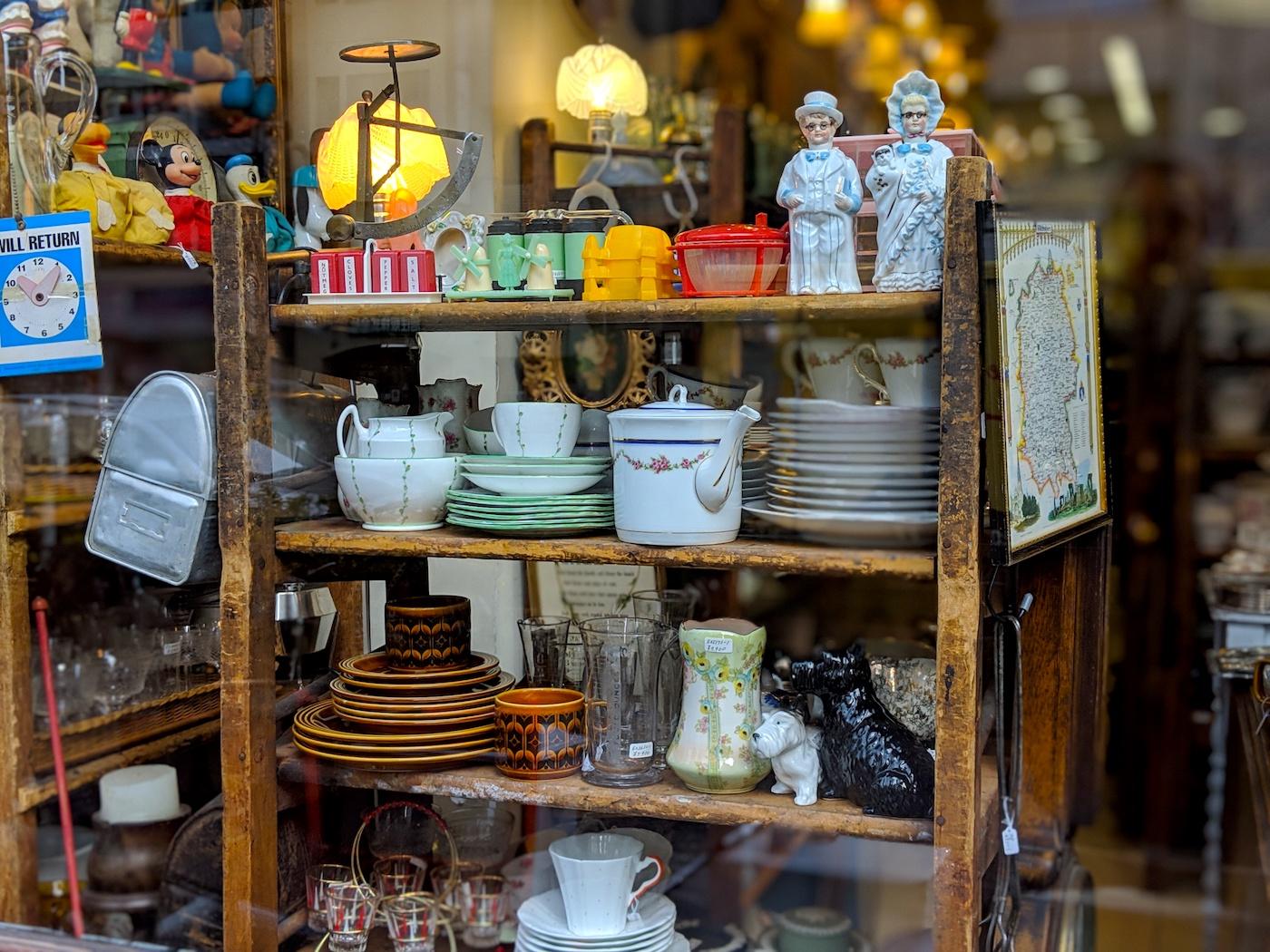 Where to shop in Ebisu Daikanyama Tokyo: Antiques mu mu