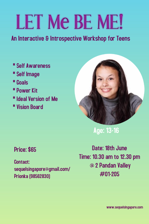 An Interactive & Introspective Workshop for Teens