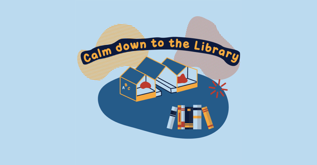 Calm Down to the Library