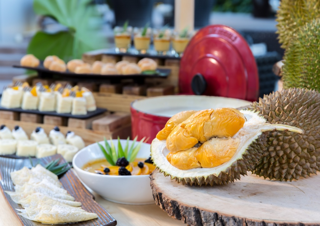 Unlimited Fresh Durians and Delectable Buffet