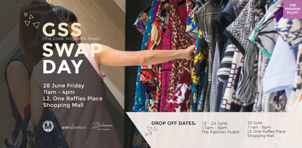 Fashion Swap by The Fashion Pulpit at One Raffles Place (Clothes Drop off)