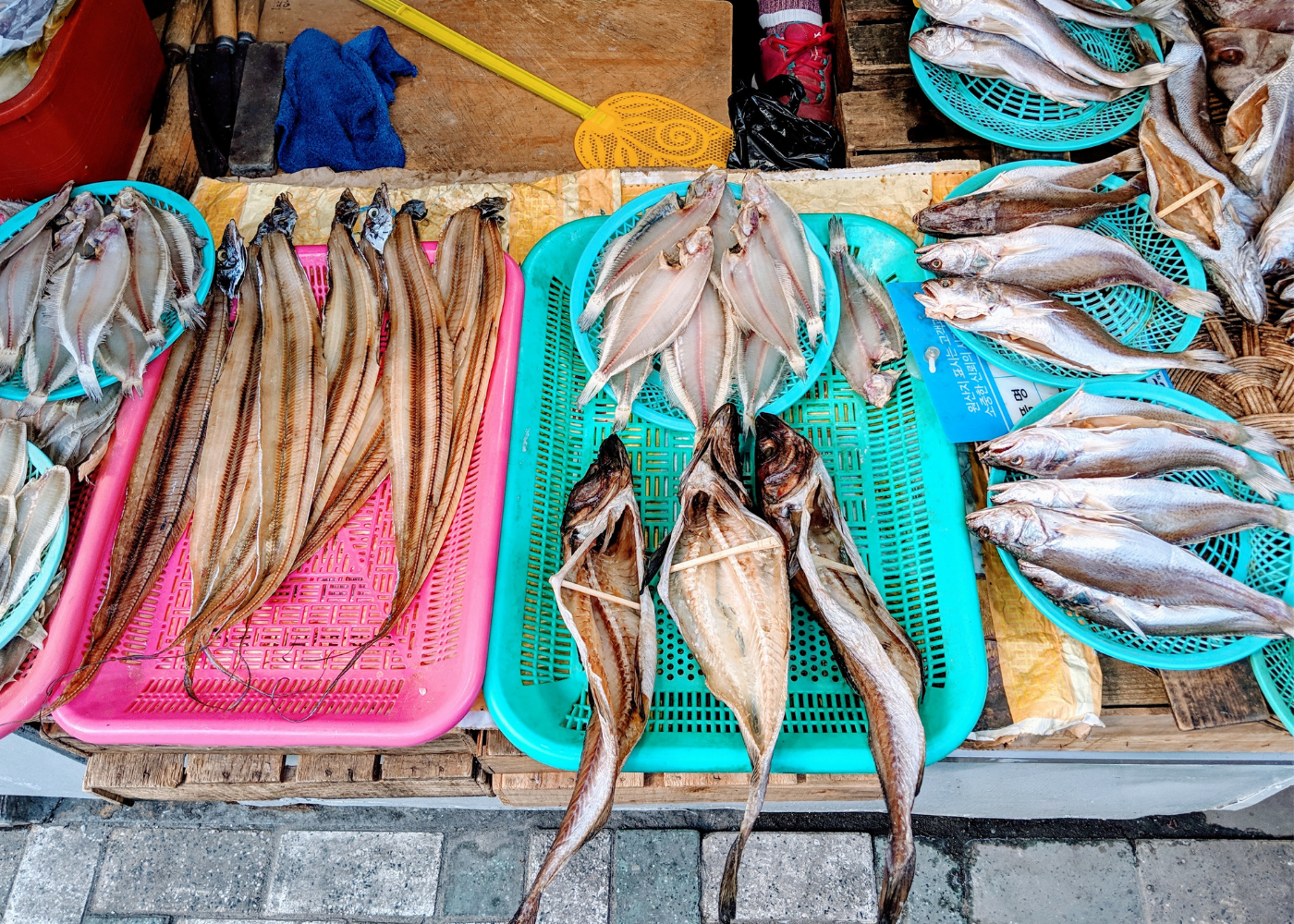 Dried fish, anyone?