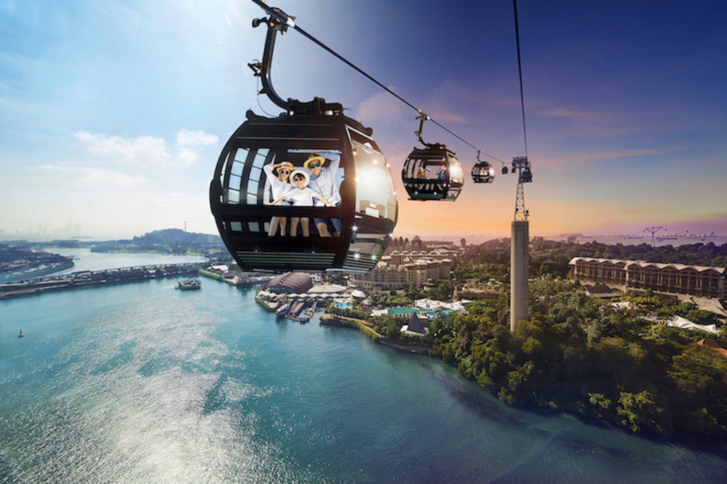 Celebrate Singapore Cable Car's 45th Anniversary