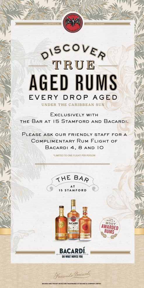 Discover True Aged Rums with Bacardi