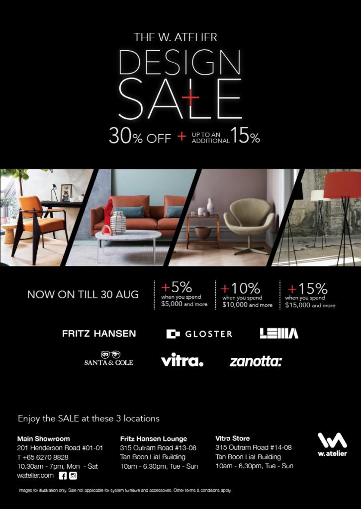 The W. Atelier Design Sale 2019