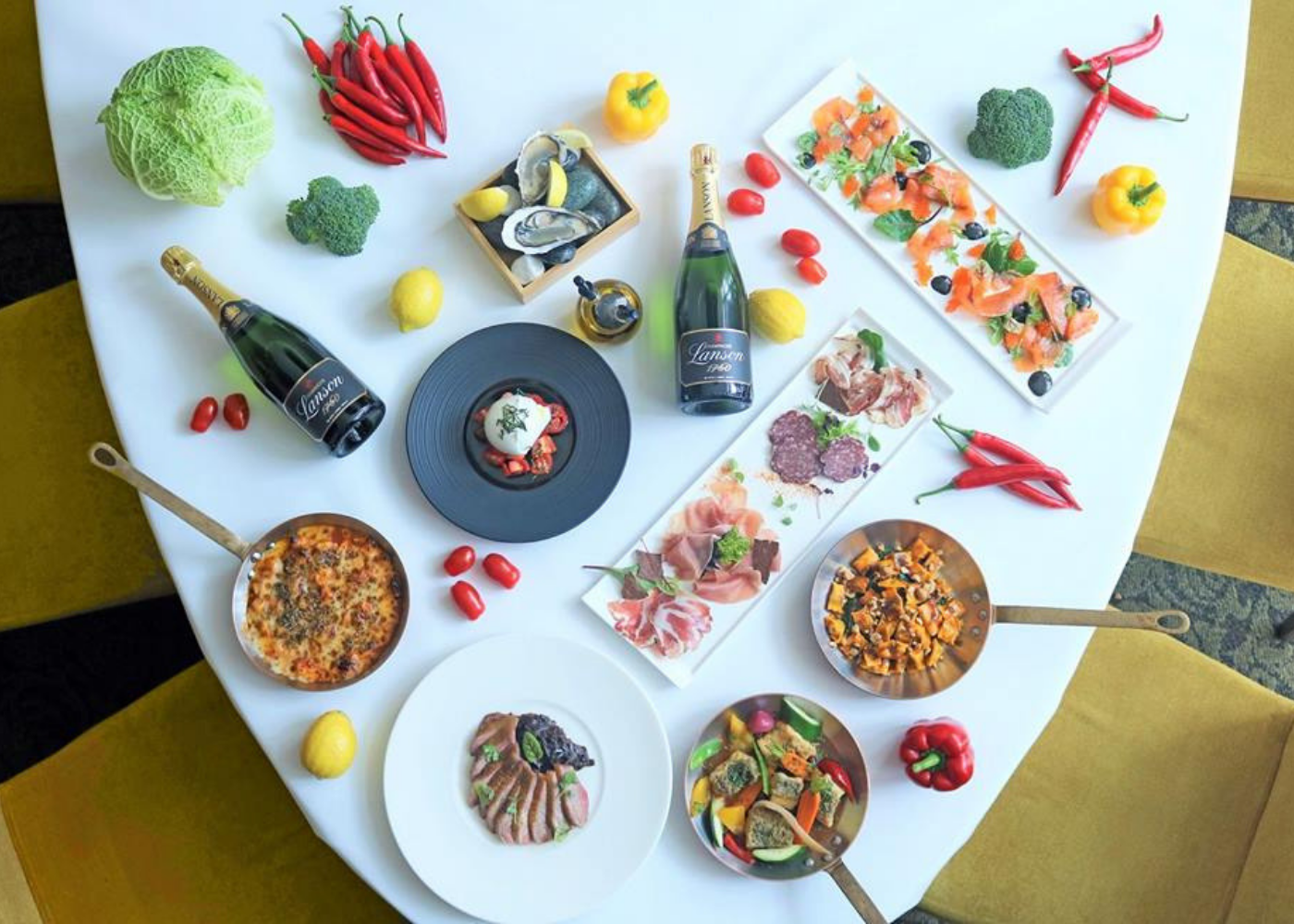 Saturday brunches Singapore | Zafferano