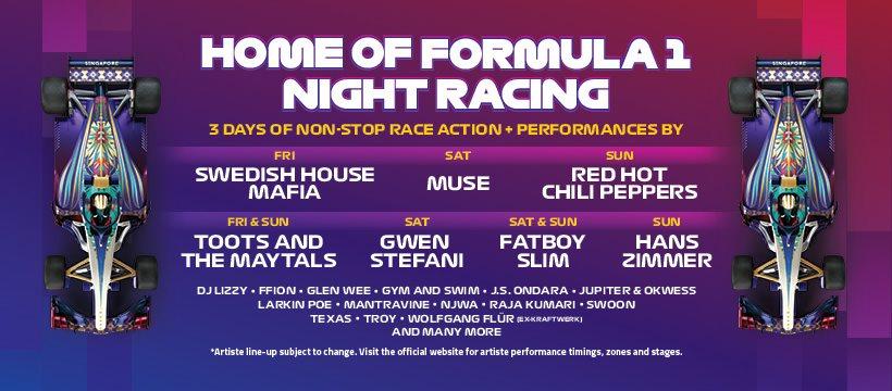 Formula 1 Night Racing 2019