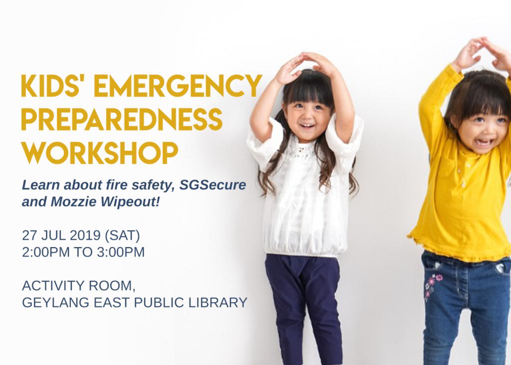 Kids' Emergency Preparedness Workshop