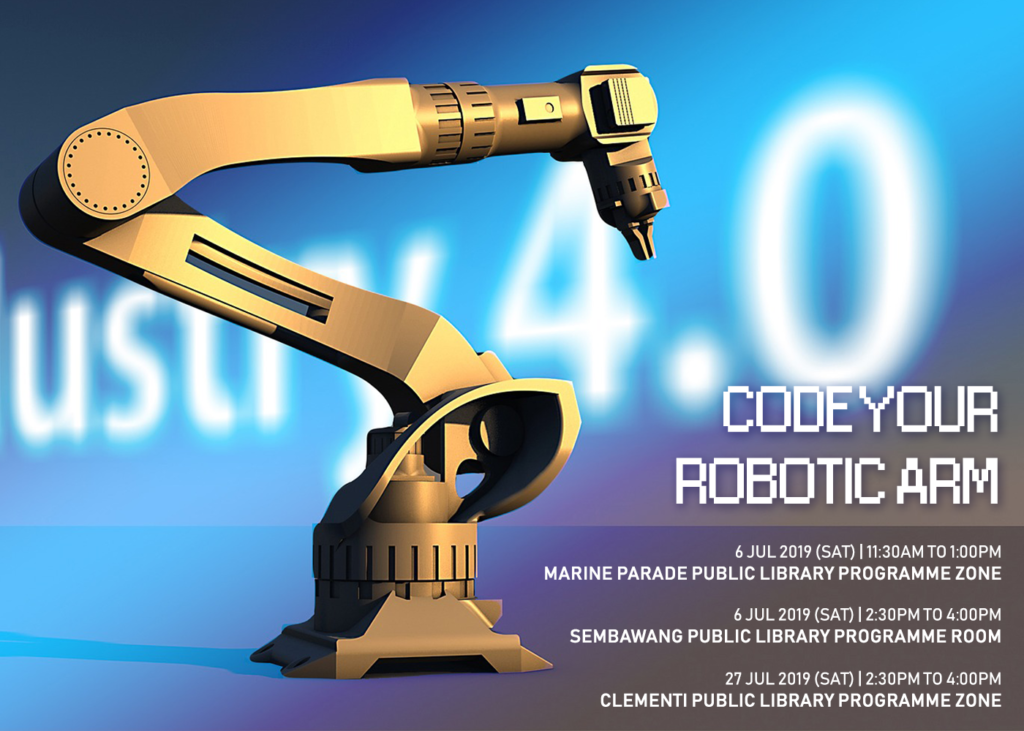 [Future of Work] Code Your Robotic Arm