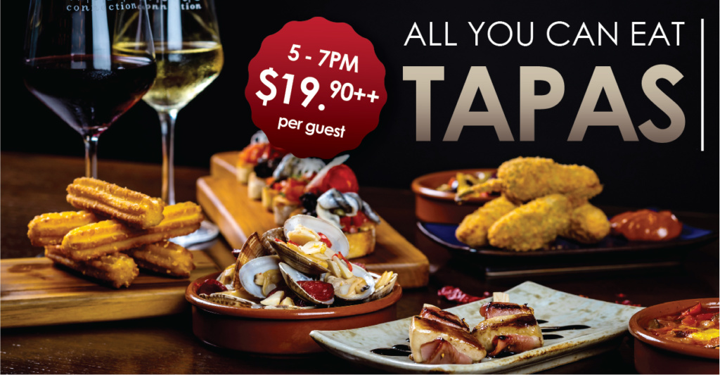 All you can eat tapas