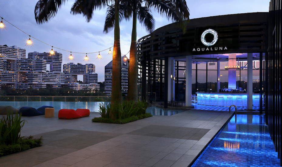 Check out Aqua Luna at Park Alexandra Hotel