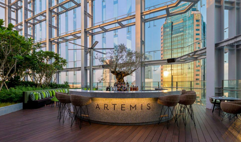 Artemis | Rooftop bars in Singapore