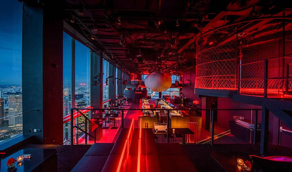 Party hard at Bar Rouge | Singapore's top rooftop bars