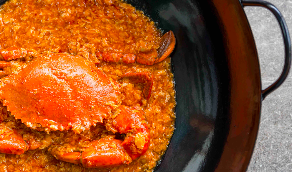 The Best of Sri Lankan Crabs at The Clifford Pier