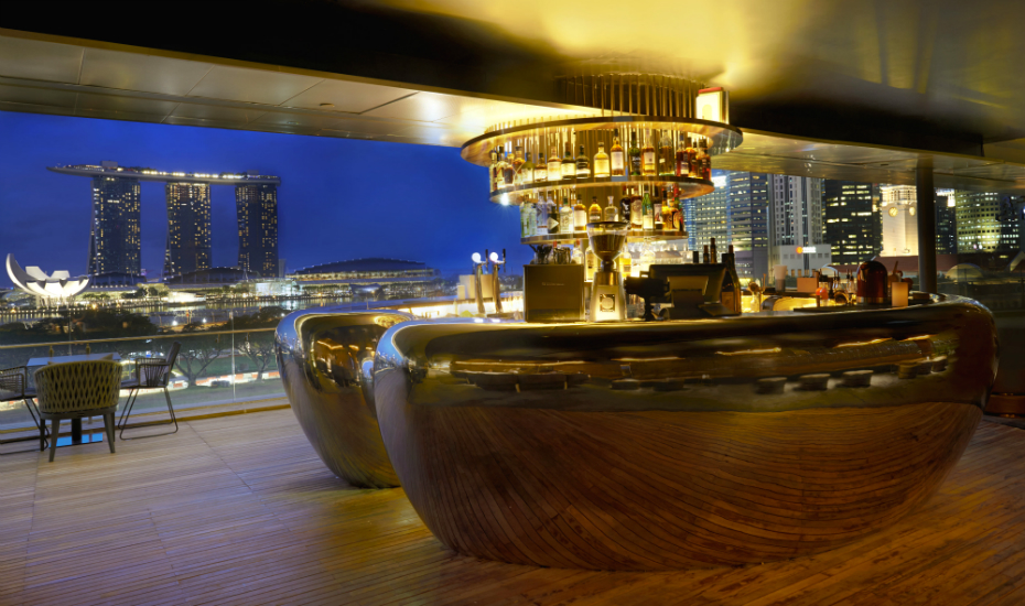 If you're visiting the National Gallery don't forget to have a drink at Smoke & Mirrors on the 8th floor