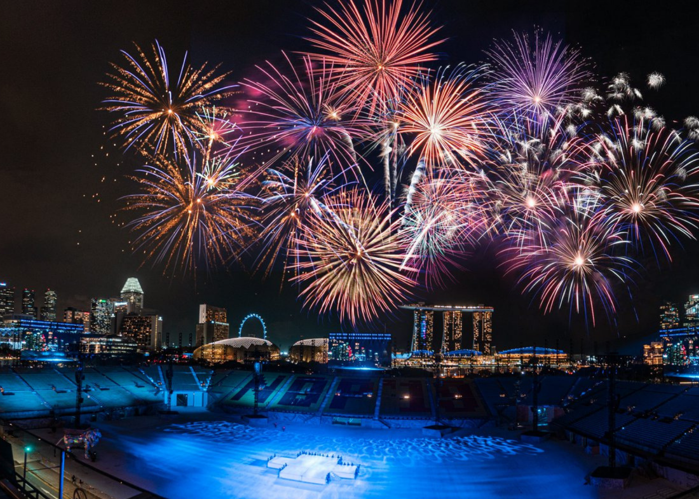 Smoke & Mirrors invites you to check out the fireworks displays during NDP season