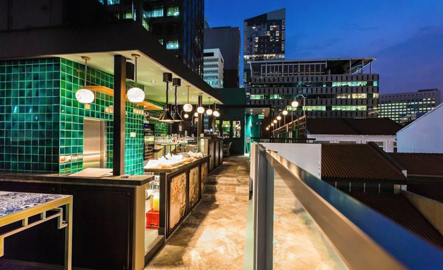 Sum Yi Tai | Rooftop bars in Singapore