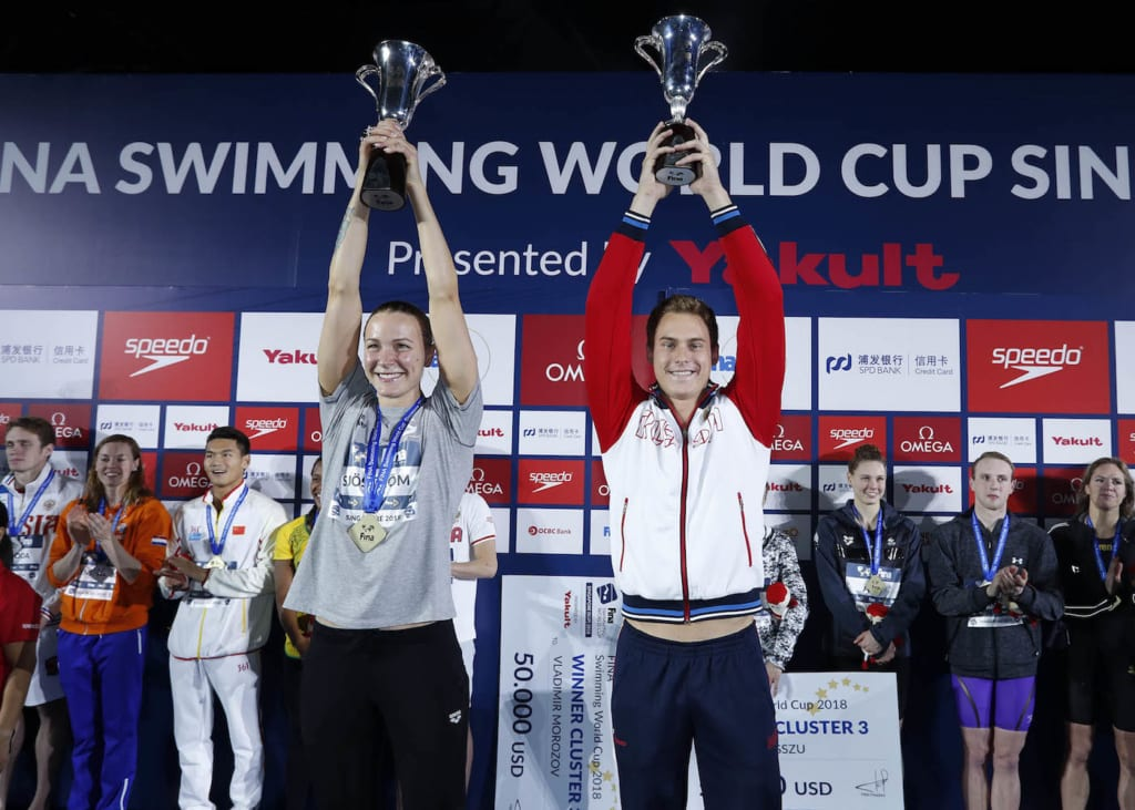 FINA Swimming World Cup Singapore 2019 presented by Yakult