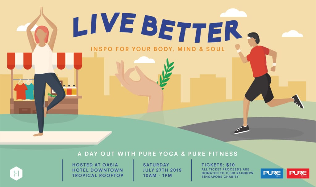 Live Better: a day out with Pure Yoga & Pure Fitness!