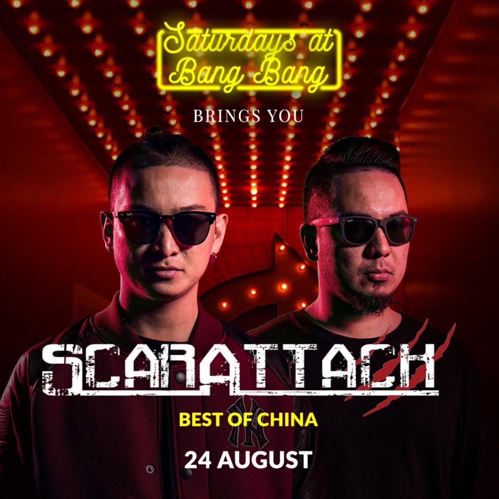Saturdays at BANG BANG brings you Scarmixx