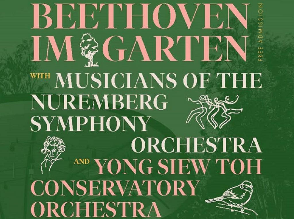 Beethoven im Garten