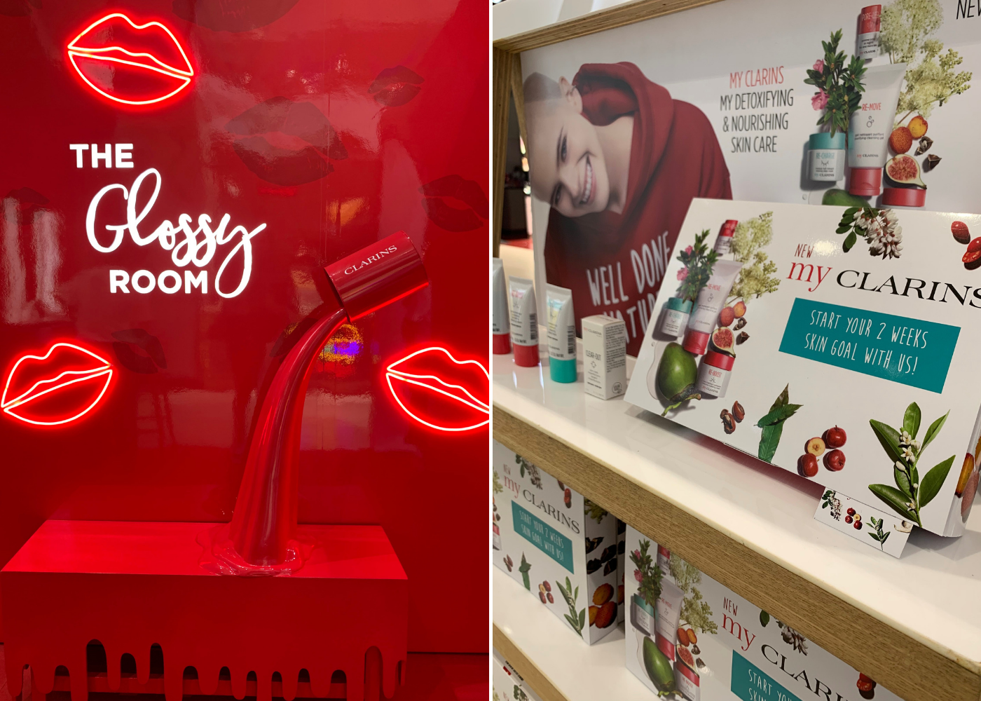 Clarins pop-up at Plaza Singapura | Things to do in Singapore this August 2019