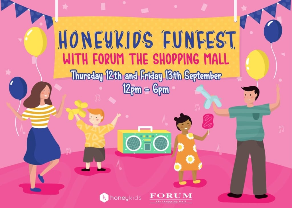HoneyKids FunFest with Forum The Shopping Mall
