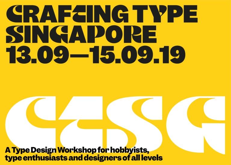 Crafting Type Singapore 2019