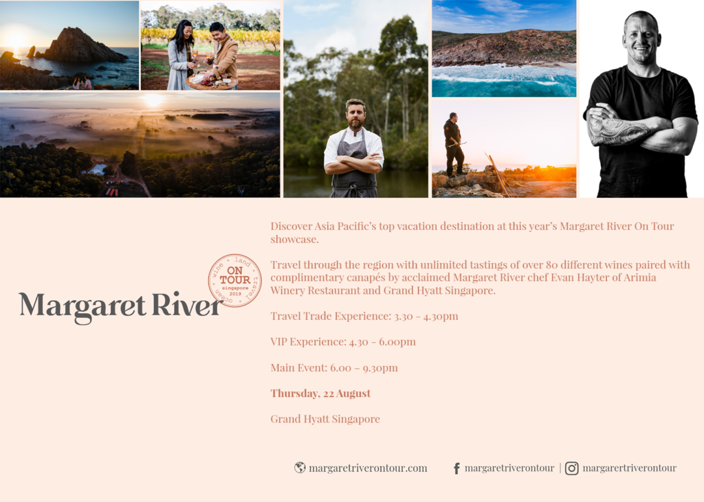 Margaret River on Tour 2019