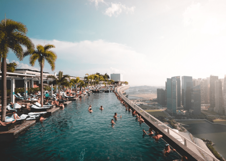 Skip the beach and make a splash at these rooftop, outdoor and infinity swimming pools in Singapore