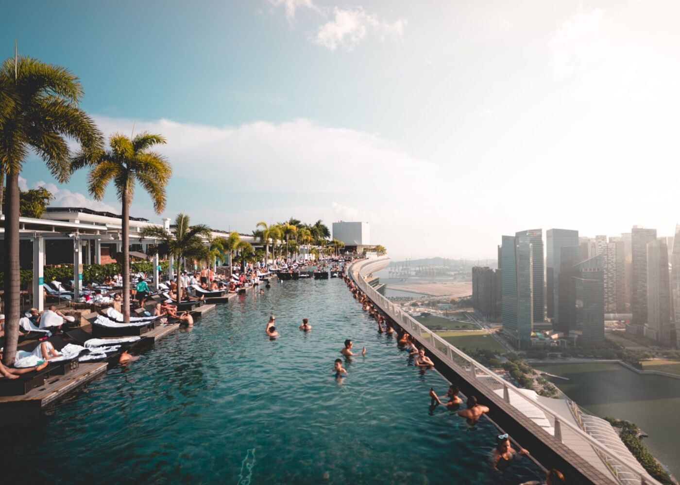 Marina Bay Sands' infinity pool is Singapore's crown jewel
