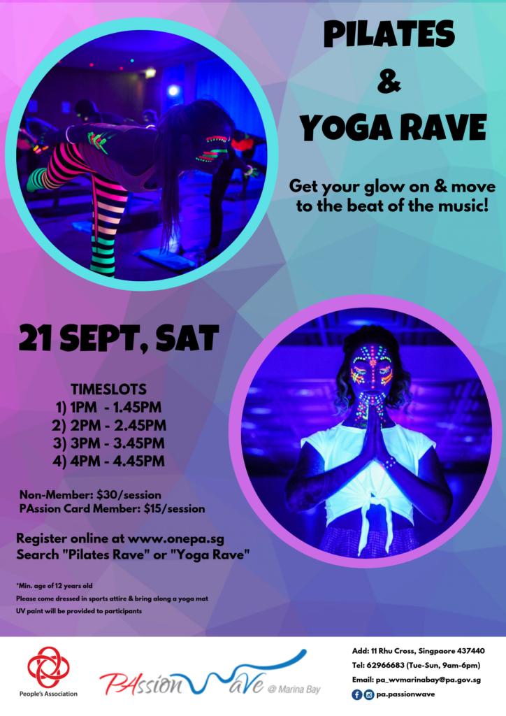 Pilates and Yoga Rave