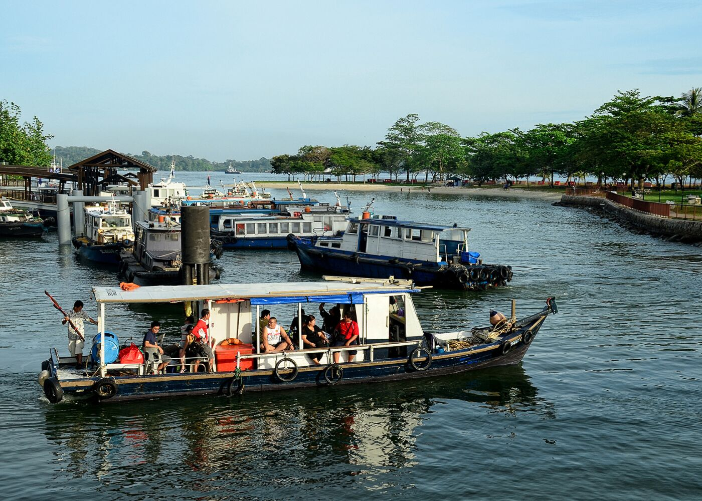 A free guided tour to Pulau Ubin