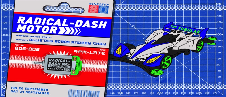 NINETEEN80's Radical Dash: F1 Weekend Special